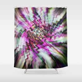Pink Freudian Shower Curtain