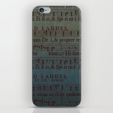 Music Sheet iPhone Skin