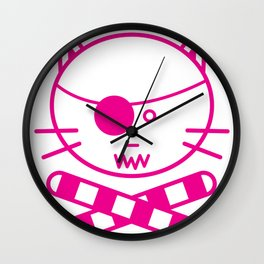 Tuna Ramekins Wall Clock