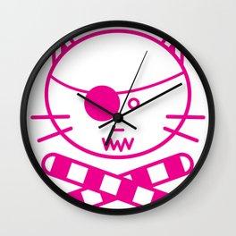 Tuna Ramekins Wall Clock