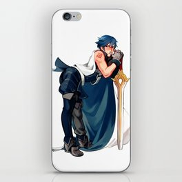 Chrom 1/7 Scaled Figure iPhone Skin