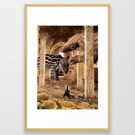Mer Temple of the Tender Mystic Framed Art Print