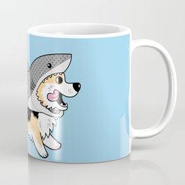 Another Corgi in a Shark Suit Coffee Mug