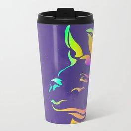 Llamita violeta by #Bizzartino Travel Mug