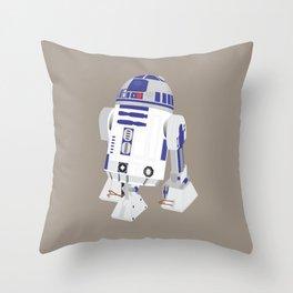 R2-D2 (Vector Art) Throw Pillow