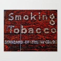 Tobacco and Bricks Canvas Print