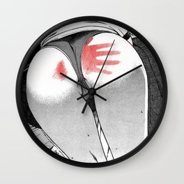 Sexy anime aesthetic - Ouch! Wall Clock