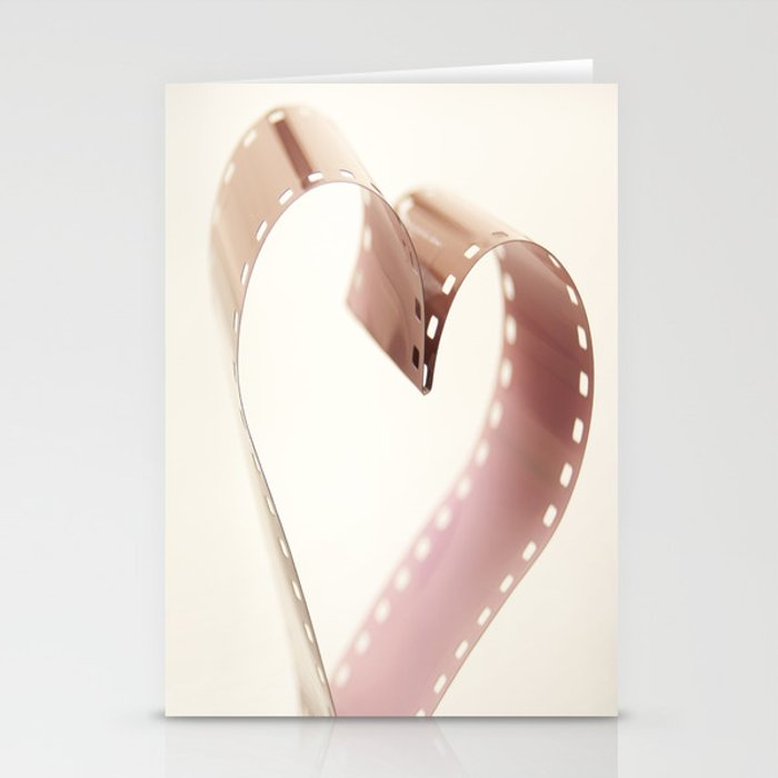 Photo Love , Film Heart Stationery Cards