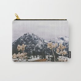 Mountains + Flowers Carry-All Pouch