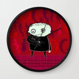 Heroine Protagonist Wall Clock