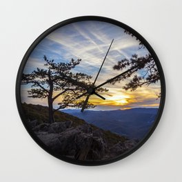Ravens Roost Overlook Wall Clock