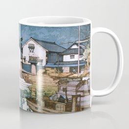 The Inland Sea Series, Second Series - Tomonoura Harbor - Digital Remastered Edition Coffee Mug