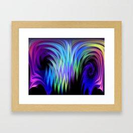 Acid Forest Framed Art Print