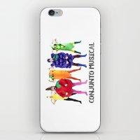 vegetables iPhone & iPod Skins featuring Human Vegetables by Orbon Alija