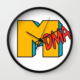 MDMA MTV parody Wall Clock