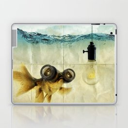 Fish Eyed Lens 03 Laptop & iPad Skin