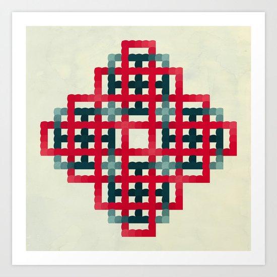 Metaphysics no1 Art Print