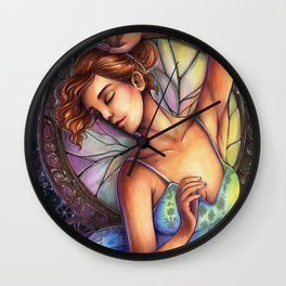 Shattered Dance Wall Clock