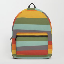 Rainbow Stripes Backpack