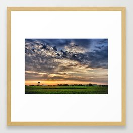 Spirit Sky 2 Framed Art Print