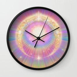 Sun Ring Wall Clock