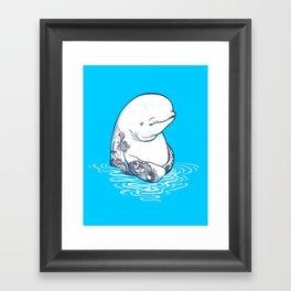 Sea Boy Framed Art Print