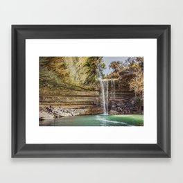 Hamilton Pool Framed Art Print