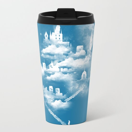 STAIRWAY TO HEAVEN Metal Travel Mug