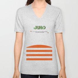 Juno - Alternative Movie Poster, classic movie, funny movie, minimal movie poster Unisex V-Neck