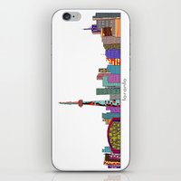 toronto iPhone & iPod Skins featuring Toronto by bri.b