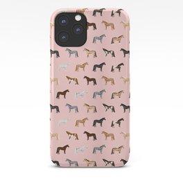 horses farm animal pet gifts iPhone Case