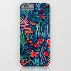 Tropical Ink - a watercolor garden Slim Case iPhone 6