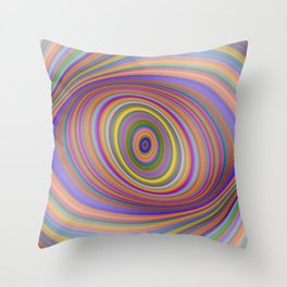 Happy Hypnosis Throw Pillow
