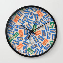 DUDE BEACH, by Frank-Joseph Wall Clock