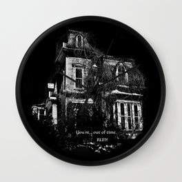 The local creepy house Wall Clock