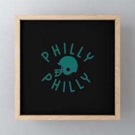 Philly Philly Framed Mini Art Print