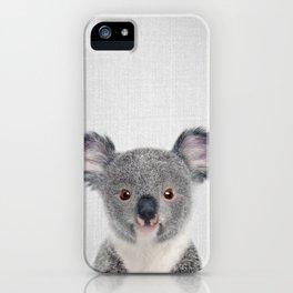 Baby Koala - Colorful iPhone Case