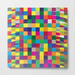 Geometric No. 4 Metal Print