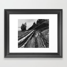 Layers of Fundy Framed Art Print