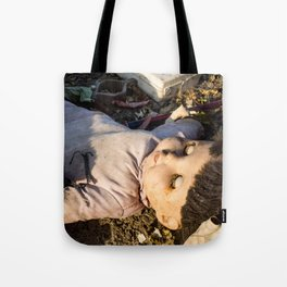 Dead Doll Tote Bag