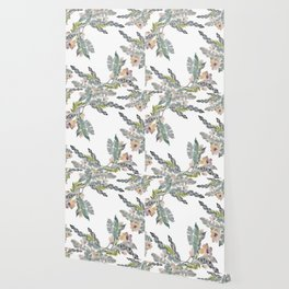 Palm Leaf Twist Wallpaper