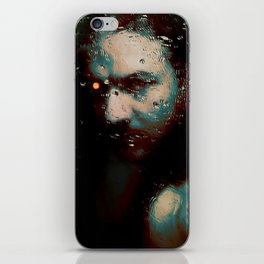 The machine - by Brian Vegas iPhone Skin