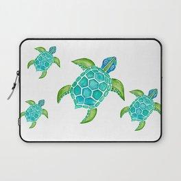 Watercolor Sea Turtle Laptop Sleeve