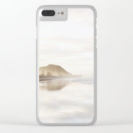 Mount Maunganui Clear iPhone Case