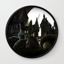 Nightmare Before Hogwarts Wall Clock