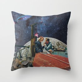 The Brightest Star In The Universe Throw Pillow