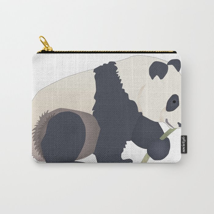 Panda Eat Carry-All Pouch
