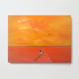I Want to Fly Metal Print