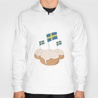 swedish Hoodies featuring Swedish Buns  by Salina Sees London