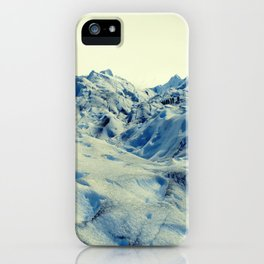 Glaciar Perito Moreno.  iPhone Case